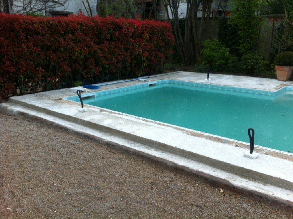 r alisation d 39 une plage de piscine en 80x80 olm carrelage. Black Bedroom Furniture Sets. Home Design Ideas